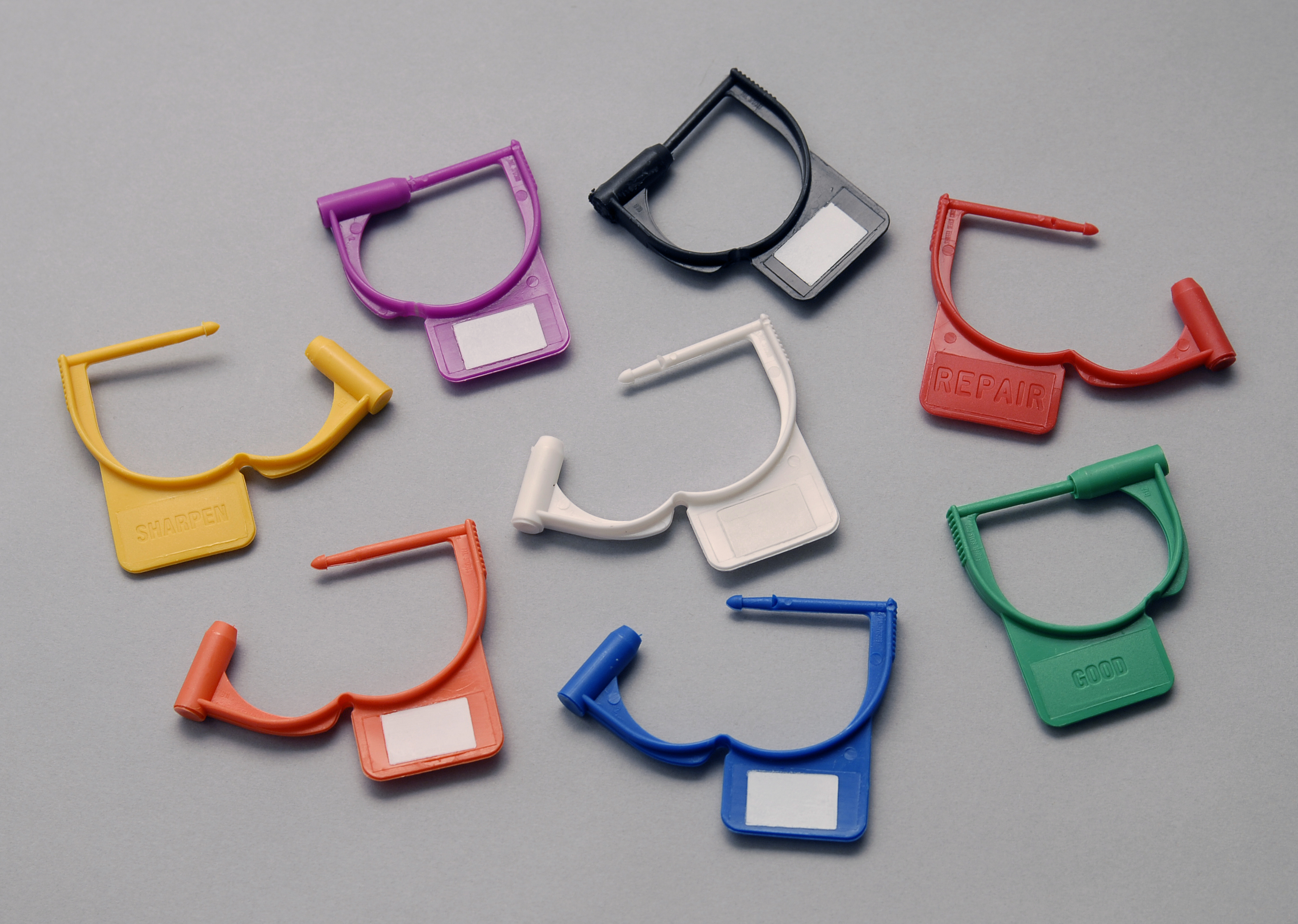 Color-Coded Identification Locking Tags